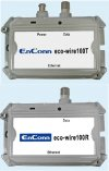 Network over coax cable converters Eco-wire100T/R